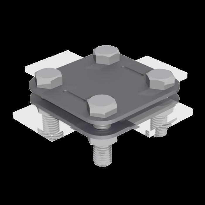 З'єднувач Cross для смуги C02/2 C02/2 LEO LIGHTMAN блискавкозахист зєднувач
